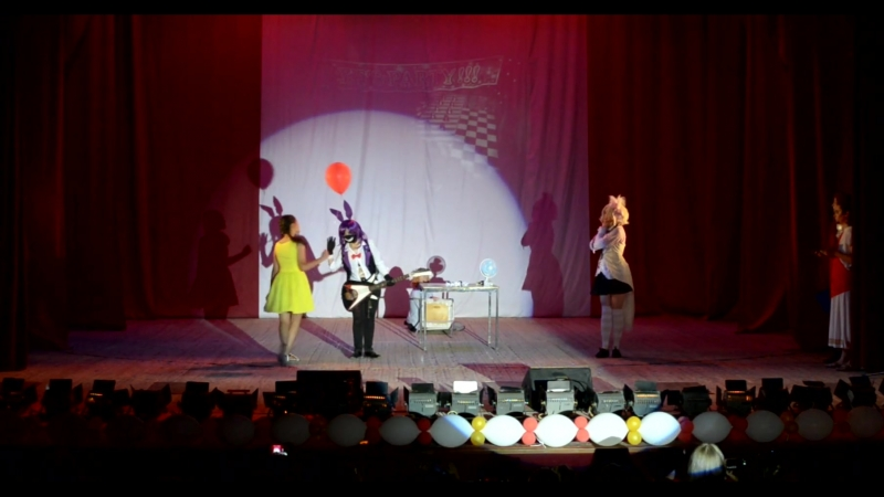 19. Five Nights at Freddy's 2, Бонни , Мангл - Bonnie, Астла, г.Энгельс и Саратов. Оригинальные костюмы. NIJI-2018 30.06.2018