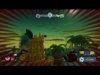 [Demaster] ВКУСНЫЙ КАКТУС))0) Plants VS Zombies garden warfare - часть 6