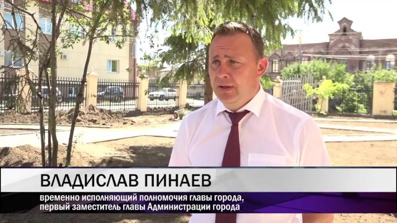 Владислав Пинаев оценил большой объем выполненных работ на территории музея изобразительных искусств (МАУ Тагил-ТВ)