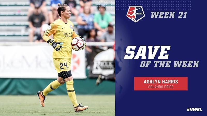 Week 21 Save of the Week | Ashlyn Harris, Orlando Pride | NWSL 2018