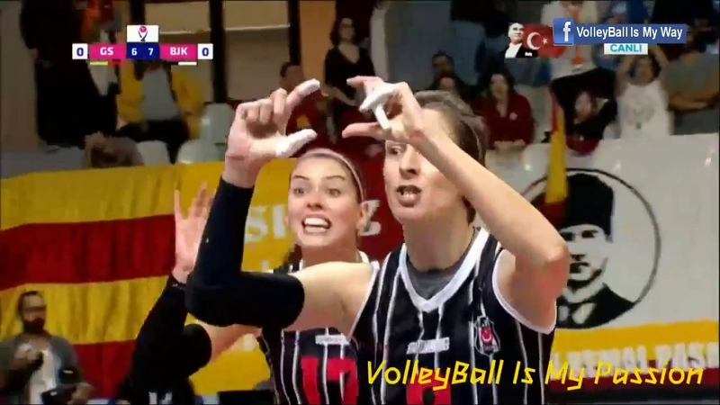 Galatasaray vs Besiktas | 10-11-2018 | Turkey Women Volleyball Vestel Venus Sultanlar Ligi 20182019