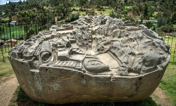 загадка перуанского камня с макетом города на высоте 3500 метров над уровнем моря, в 47 км к востоку от города абанкай (перу) расположен археологический комплекс сайвите (sayhuite), который