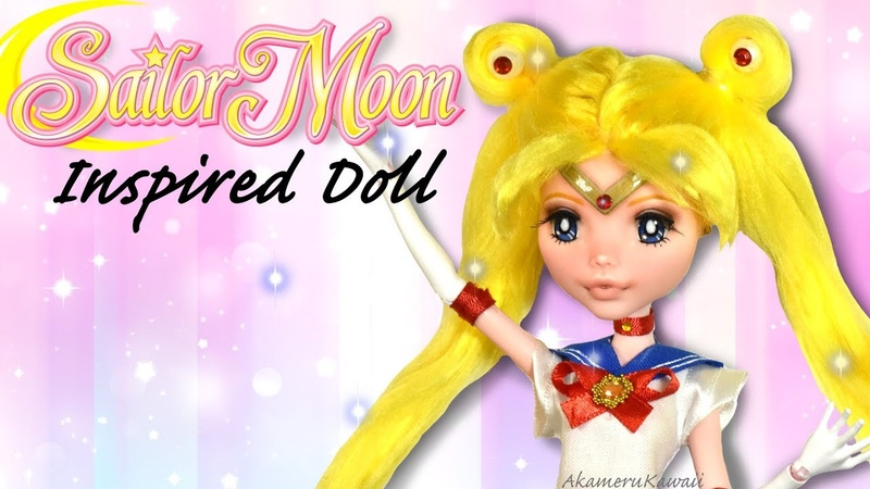 Sailor Moon - Repaint this in your style - Doll Repaint Tutorial