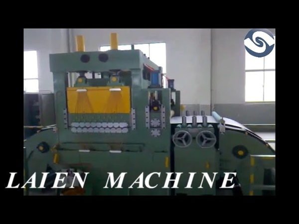 Automatic high speed cut to length machine line for stainless steel coil