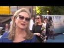 Мерил Стрип на премьере фильма «Mamma Mia: Here we go again» / Интервью