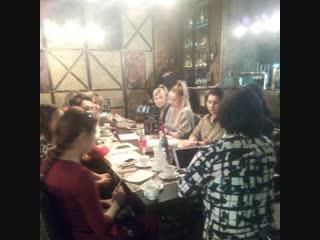 Встреча с Ксенией Шамовой