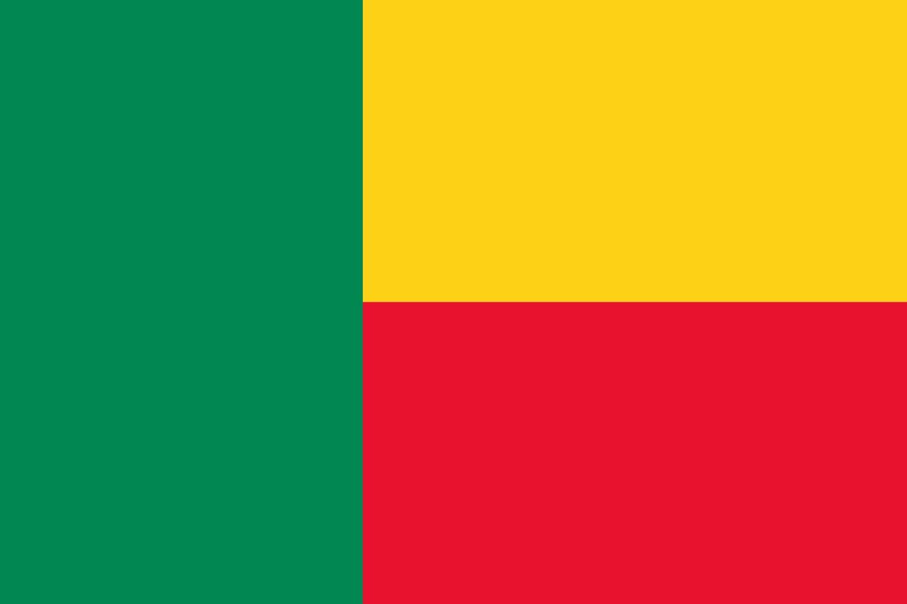 Флаг Бенин