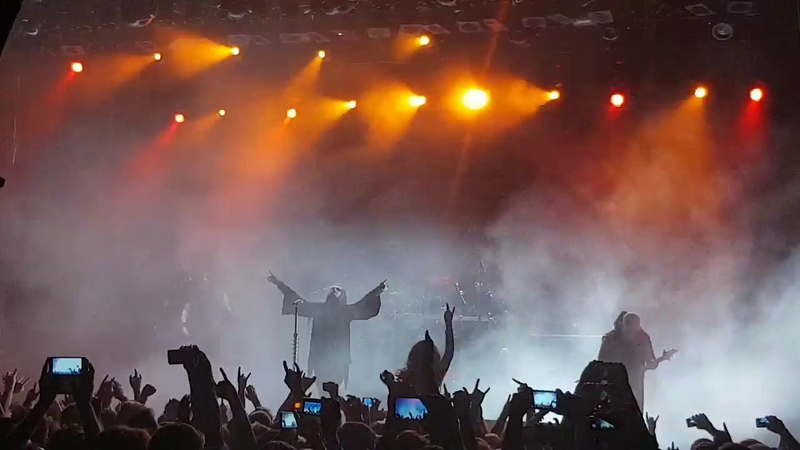 Dimmu Borgir - The Serpentine Offering (live in GlavClub, Moscow, 20.09.2018)
