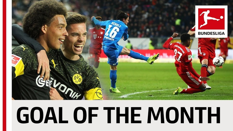 Top 10 Goals January - Vote For The Goal Of The Month