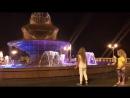 Поющий фонтан в центре Геленджика