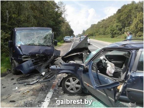 Барановичский район: водитель уснул за рулем и попал в ДТП