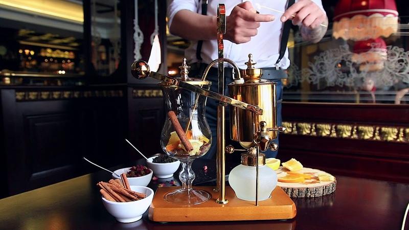 Чай в сифоне. Ресторан Черчилль.