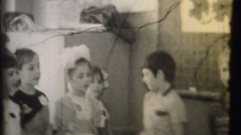 7 марта 1987 г Соревнования девочек Жениного класса