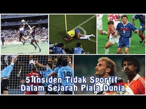 5 Insiden Tidak Sportif Dalam Sejarah Piala Dunia