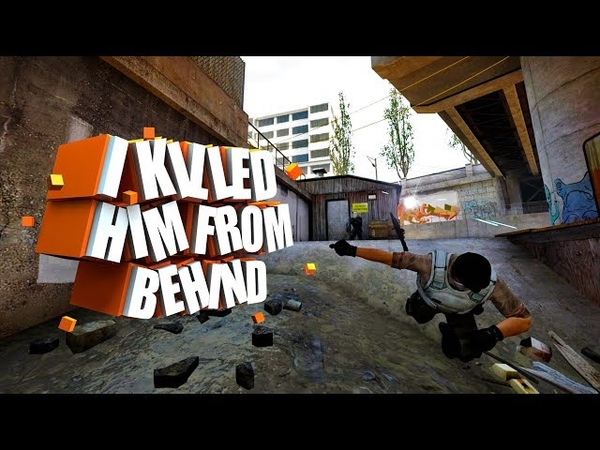 I KILLED HIM FROM BEHIND! || Cs go. || 5 vs 5 in faceit || 6