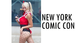 THIS IS COMIC-CON NYCC 2018 NEW YORK COMIC CON COSPLAY MUSIC VIDEO NYC VLOG