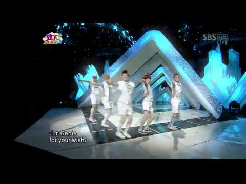 [HD] 2PM,SHINee,M.C Mong - Tell Me Your Wish (Genie) Special Stage