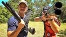 Два офигительно разных ружья Разрушительное ранчо Перевод Zёбры