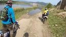 Эндуро тур на Байкал вдоль реки Селенга в район Оймура часть первая