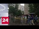 В столице снова объявлен желтый уровень погодной опасности Россия 24