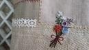 Embroidery Flowers Hemp Bag Part 2 │ How To DIY Craft Tutorial
