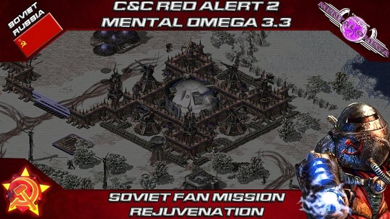 MENTAL OMEGA 3.3.4 - Soviet Fan Mission REJUVENATION
