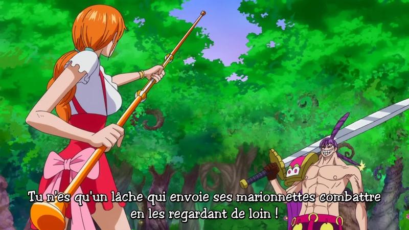 Luffy réapparait et sauve Nami ! One Piece Épisode 803 VOSTFR [HD]