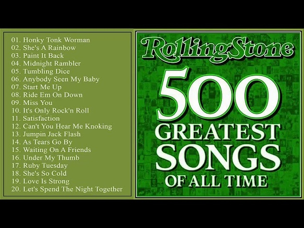 Rolling Stones 500 Greatest Songs Of All Times    Rolling Stones Greatest Hits Full Album