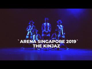 "Kinjaz ""knight cap""   arena singapore 2019"