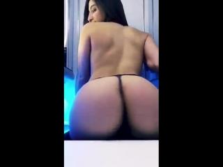 Sexy pornstar Abella Danger webcam show sexy ass