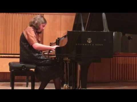 Чомахидзе Софья, Дебюсси, Прелюдия из сюиты для фортепиано