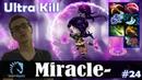 Miracle Templar Assassin MID Ultra Kill vs ppd Leshrac Dota 2 Pro MMR Gameplay 24