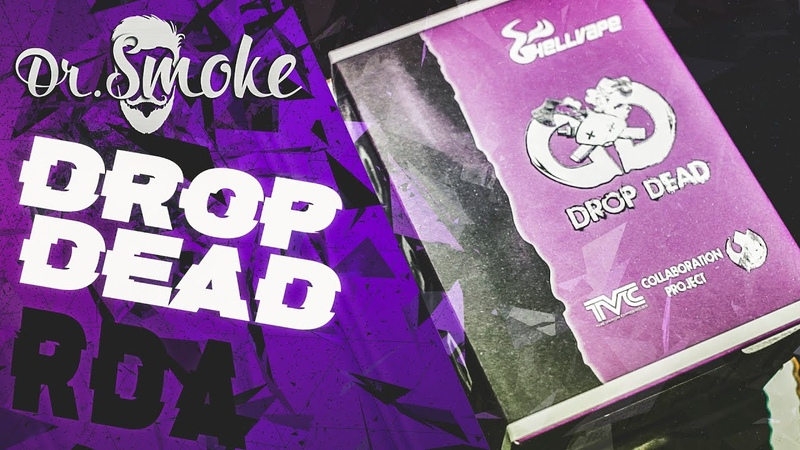 Drop Dead RDA by Hellvape The Vapor Chronicles | Енот вещает | Достойная дрипка в 2к19