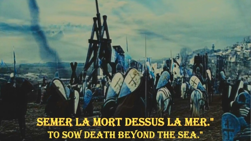 ✞ Le Roi Louis ~ Music Video ~ French Crusader song ~ English French lyrics