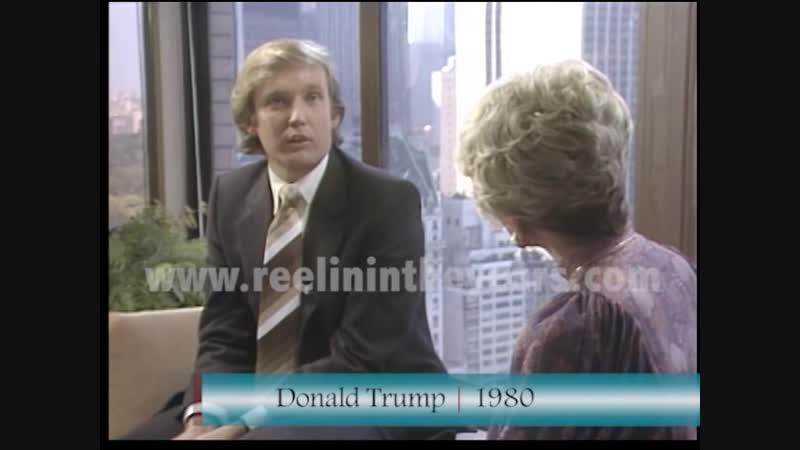 Donald Trump tells Rona Barrett in 1980 he wont run for President