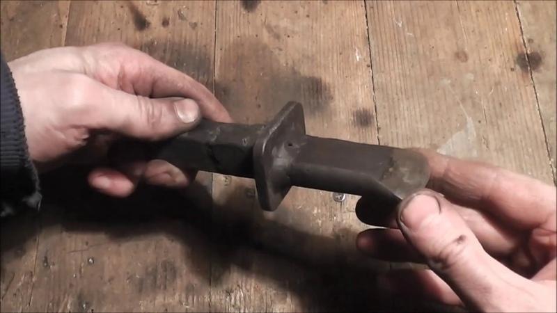 Кузнечный инструмент Гильотина и зубило