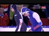 Ангелина Голикова 500м - 37,49 и Ванесса Херцог 500м - 37.31