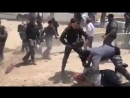 Shocking! Watch how the most moral army in the world attacks Palestinian women in Khan al-Ahmar community east of Occupied Jerus
