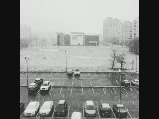 Первый снег 2018 - Витебск