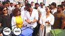 Ajay Devgan and kajol ने लगाया रोड पर झाड़ू For Support PM Narendra modi and swachh bharat abhiyan
