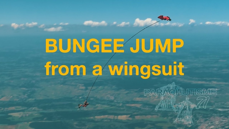 008 Skyfall ws 2019 Worlds first bungee jump from a Wingsuit