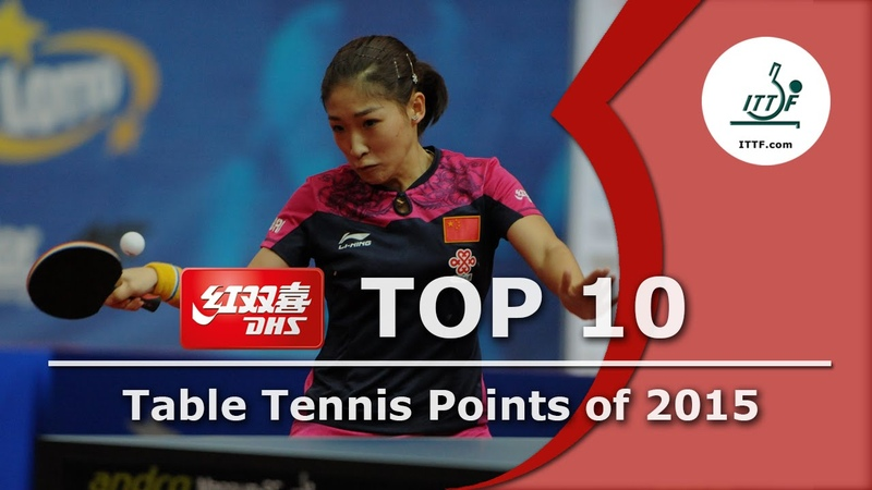 Top 10 Table Tennis Points of 2015