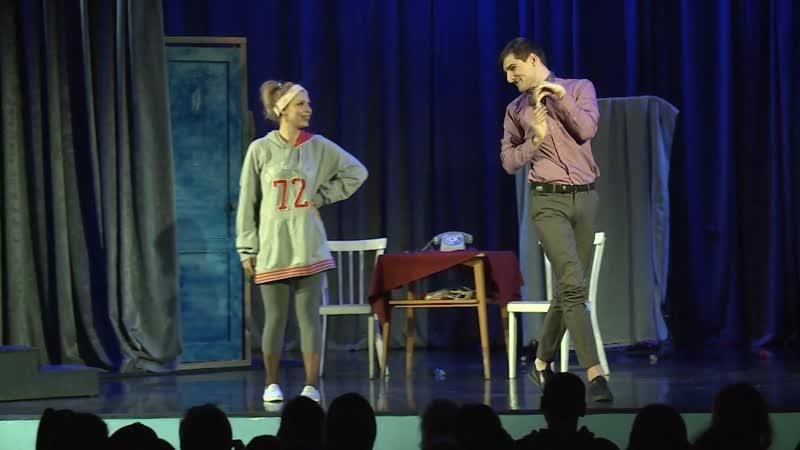 Спектакль Свободная пара поставили в Выборгском молодежном театре
