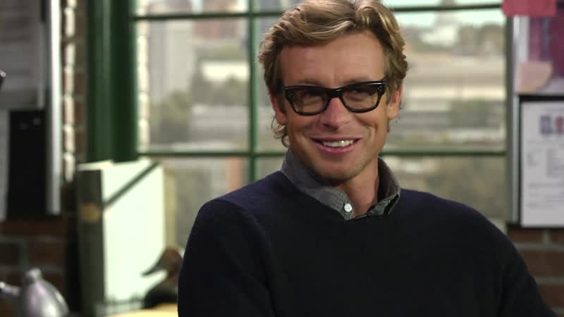Simon Baker on Larry King Now (Nov 2012)