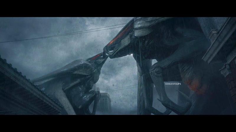 Godzilla (2014) - Godzilla Bridge Scene - MUTO Attack Scene