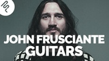 Red Hot Chili Peppers - John Frusciante - Gear Rundown - Part 3 - Guitars