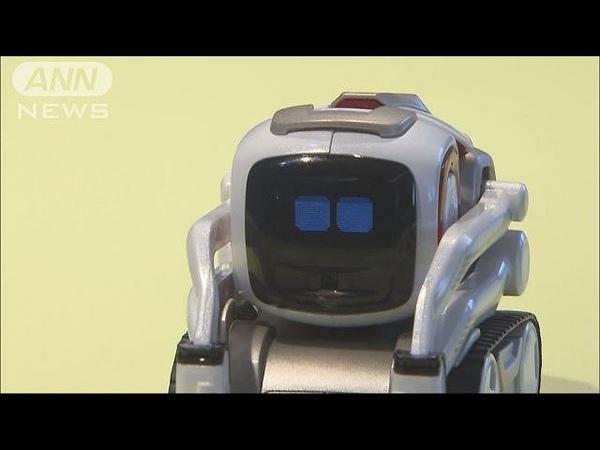 ロボットが喜怒哀楽を表現 AI搭載で人の表情も認識(17/07/11)