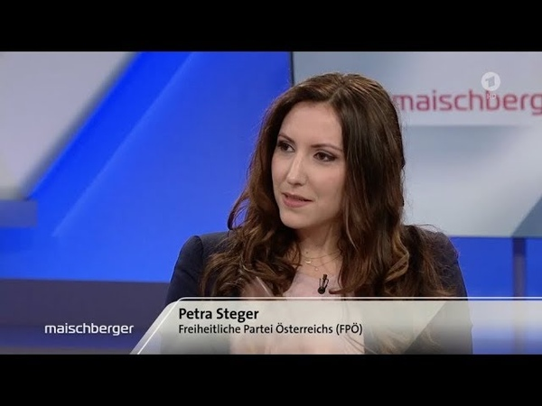 Petra Steger bei Maischberger Ist der Brexit erst der Anfang 20 3 2019