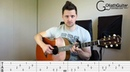 Bloom The Paper Kites Guitar lesson Tabs