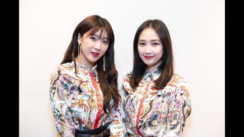 190209 ヒョナとナレが初共演 ASIA'S ARTISTS EXHIBITION 나인뮤지스 NINEMUSES Hyuna 스피카 SPICA NaRae